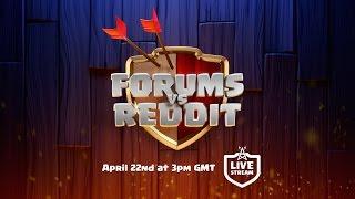 Download Clash of Clans - Forums vs Reddit Livestream! Video
