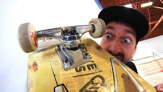 Download THE TIGHTEST SKATEBOARD TRUCKS IN THE WORLD? Video