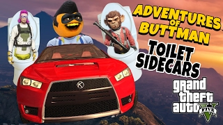 Download Adventures of Buttman #13: Toilet Sidecars! (Annoying Orange GTA V) Video