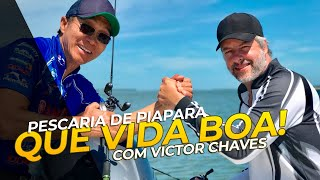 Download QUE VIDA BOA! - Pescaria de Piapara com Victor Chaves Video