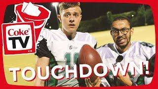 Download American Football mit Jonas & Jonas Himmel | #CokeTVBucketlist Video