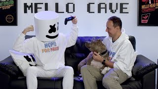 Download Marshmello x Hope For Paws - Making Lives Happier | #YouTubeGiving Video