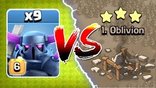 Download ALL MAX LEVEL 6 PEKKA'S vs TOP PLAYER IN WAR!! - Clash Of Clans - GEM TO MAX LEVEL! Video