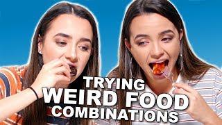 Download WEIRD Food Combinations People LOVE!!! - Merrell Twins Video