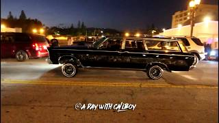 Download Lowriders on Hollywood Blvd cruise 2017 (raw footage) Video