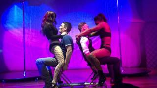 Download Alicia Domenica surprise performance for Venus pole dancing Video