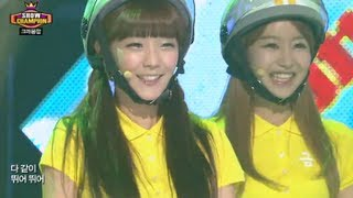 Download Crayon Pop - Bar Bar Bar, 크레용팝 - 빠빠빠, Show Champion 20130731 Video
