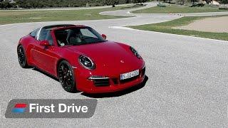 Download Porsche 911 Targa 4 GTS first drive review Video