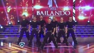 Download Los Potros Malambo en Show Match - acompañando a Hernan Piquin - Bailando 2014 Video