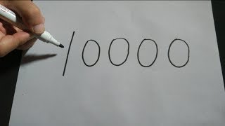 """Download 一筆寫出數字""""10000"""",誰能做到?(A pen to write the number ″10000″, who can do?) Video"""
