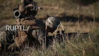 Download Latvia: Thousands of NATO troops train outside Riga in Silver Arrow drills Video
