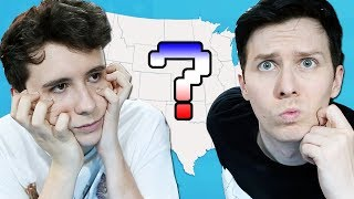 Download Can Dan and Phil guess the USA States?! Video