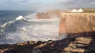 Download Hercules 2014: Huge waves in Sagres, Portugal (Cabo São Vicente) 6/1/14 Video