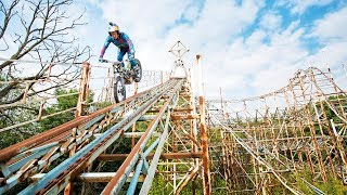 Download Dougie Lampkin's Last Joyride in an abandoned theme park. Video