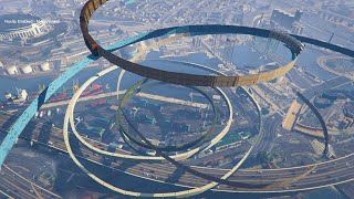 Download WORLD'S LONGEST IMPOSSIBLE WALLRIDE! (GTA 5 Mods Funny Moments) Video