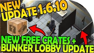 Download NEW UPDATE 1.6.10 - NEW FREE CRATES + BUNKER LOBBY UPDATE - Last Day On Earth Survival 1.6.10 Update Video