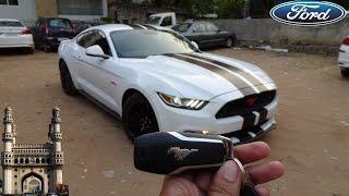 Download 2017 Ford Mustang GT Fastback Walkaround | Borla Exhaust (In Hyderabadi) Video