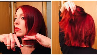 Download HOW TO CUT YOUR OWN HAIR/ Cosmetologist tutorial Video