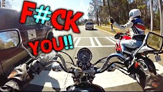 Download ROAD RAGE | EXTREMELY STUPID DRIVERS | DANGEROUS MOMENTS MOTORCYCLE CRASHES Video