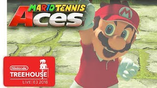 Download Mario Tennis Aces Gameplay Pt. 1 - Nintendo Treehouse: Live | E3 2018 Video