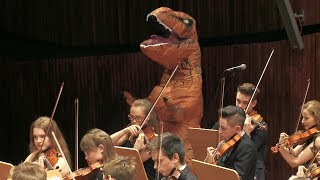 Download T-rex in Jurassic Park Main Theme by John Williams 쥬라기 공원 ジュラシック・パーク Video