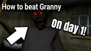 Download How to beat Granny on day 1! (Easy) [Horror Game] | Jirka LP Video