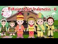 Download Pakaian Adat Indonesia - 8 | Budaya Indonesia | Dongeng Kita Video