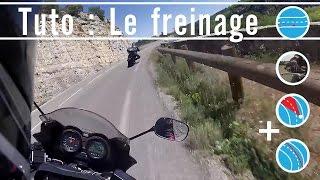 Download Comment freiner à moto ? Video