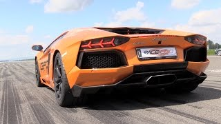 Download 1500HP Lamborghini Aventador Bi Turbo GAD MOTORS - Start, Revs & Accelerations! Video