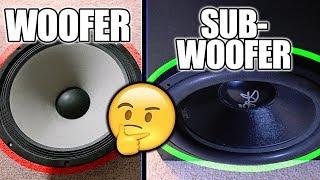 Download Woofer VS Subwoofer Video