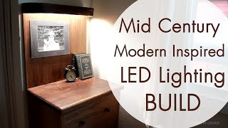 Download Mid Century Modern Furniture w/ LED Lighting Video
