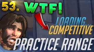 Download COMPETITIVE Practice Range??..WTF GLITCH?? | OVERWATCH Daily Moments Ep. 53 Video