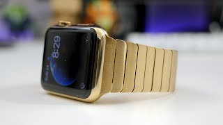 Download Best Gold Apple Watch!? (Unboxing & Hands-on) Video