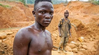 Download Gold Mining and People's Dreams After Civil Wars in Liberia - Journey to Dreams Documentary Video
