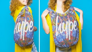 Download Nothing Lasts Forever…But You Can Reuse Your Clothes Back to Life! 20 Clothing Hacks by Crafty Panda Video