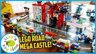 Download LEGO BRICKHEADZ CITY With Police and Construction Vehicles and Firetrucks! Video