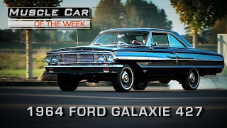 Download Muscle Car Of The Week Video Episode #190: 1964 Ford Galaxie 500 427 4-Speed R-Code V8TV Video