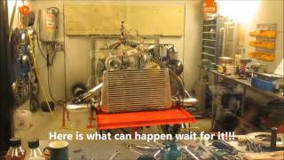 Download Dieselmeken shows OM606 in dyno 20160404 LUNTEC Sweden Video