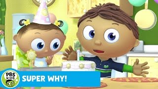 Download SUPER WHY! | Whyatt Makes a Birthday Cake | PBS KIDS Video