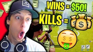 Download YOU GUYS MAKING $$$ IN FORNTITE BATTLE ROYALE!!! (Fortnite Stream Snipe Challenge) Video