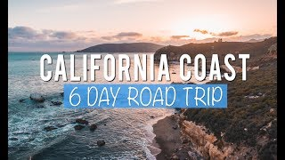 Download California Road Trip: 6 Days Exploring the Central Coast Video