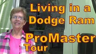 Download Carolyn Living in a Dodge Ram ProMaster-Tour Video