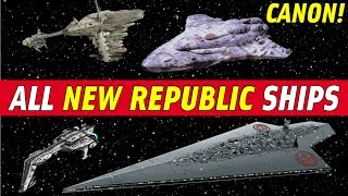Download All New Republic Ships (Star Wars Canon)   The Last Jedi Analysis Video