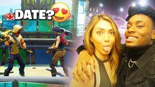 Download I Met a HOT Model on Fortnite and Took her on an EXPENSIVE Date! *LUCKIEST DAY EVER* Video