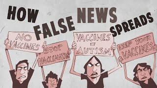 Download How false news can spread - Noah Tavlin Video