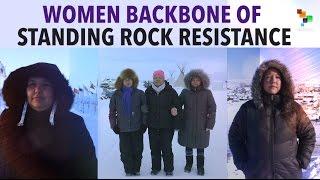 Download Women Backbone of Standing Rock Resistance Video