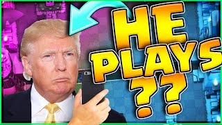 Download DONALD TRUMP PLAYS CLASH ROYALE!? Video