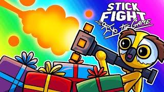 Download Stick Fight Funny Moments - Santa Loves Vanoss! Video