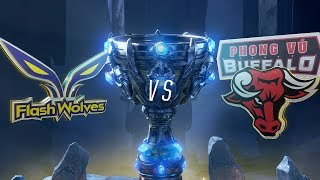 Download FW vs PVB | Worlds Group Stage Day 6 | Flash Wolves vs Phong Vũ Buffalo (2018) Video