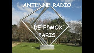 Download F5MOX radio amateur- Une antenne formidable au Parc Floral de Paris Vincennes Video